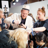 BACKSTAGE WITH GHD AT PPQ SS14