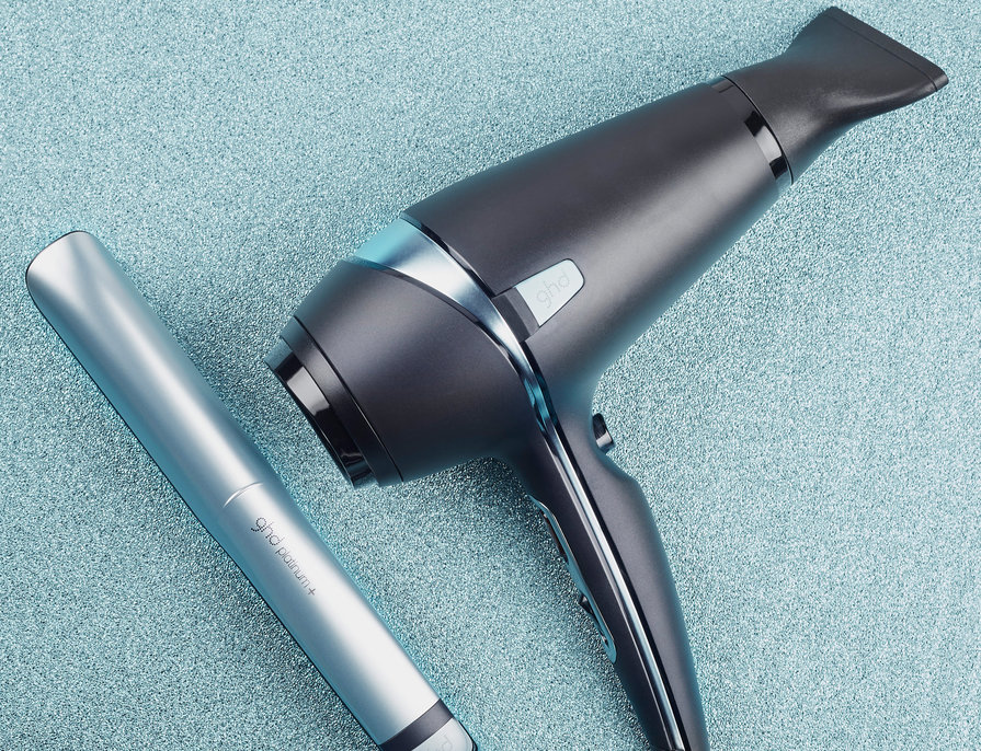 The ghd glacial blue collection