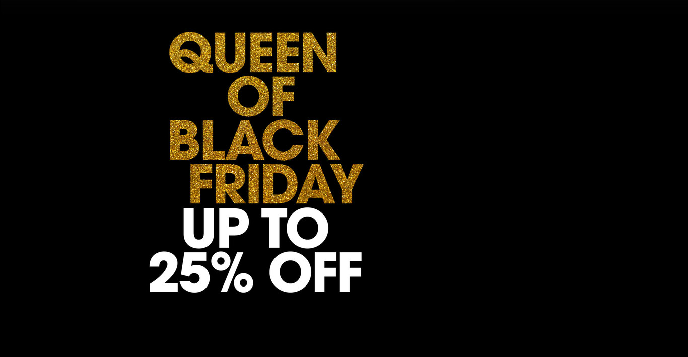 Be a queen of the sales this Black Friday! Get up to 20% off ghd styling tools, for a limited time only.