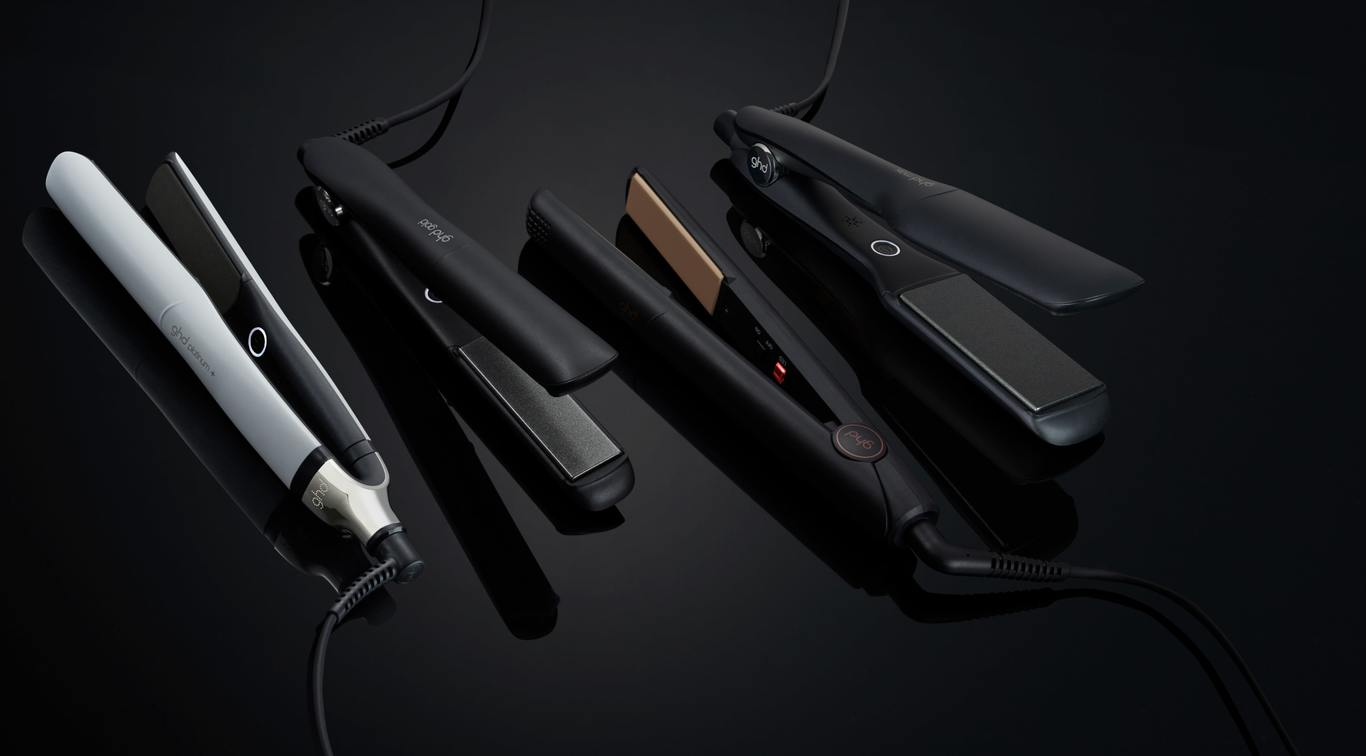 Take your pick from the ghd hair straighteners range and start your styling kit with the ultimate essentials. From magical mermaid waves to beautiful, bouncing curls and poker-straight styles, our range of professional hair straightening tools means you can create a salon-worthy look that's stylish and effortless.