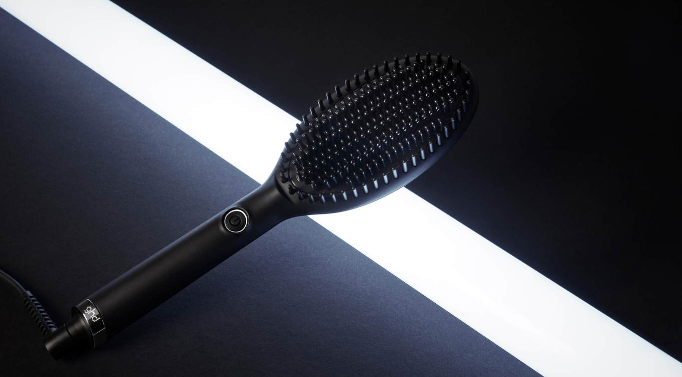 Here's everything you need to know about the brush that broke the internet: the ghd glide.