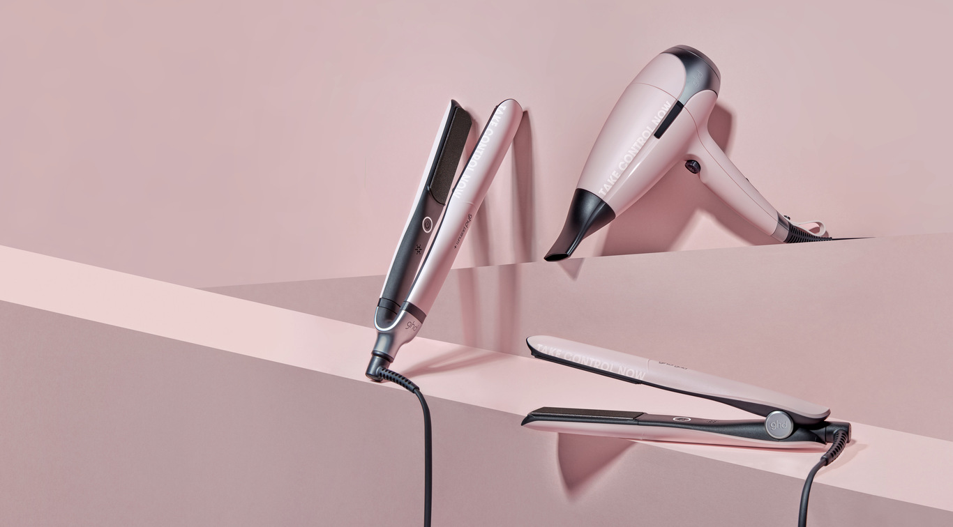 Take Control Now and ghd will donate HKD100 from every sale of the new ghd pink collection to breast cancer charities across the globe.